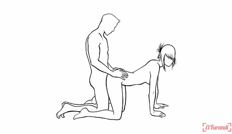 poses de porno dibujo