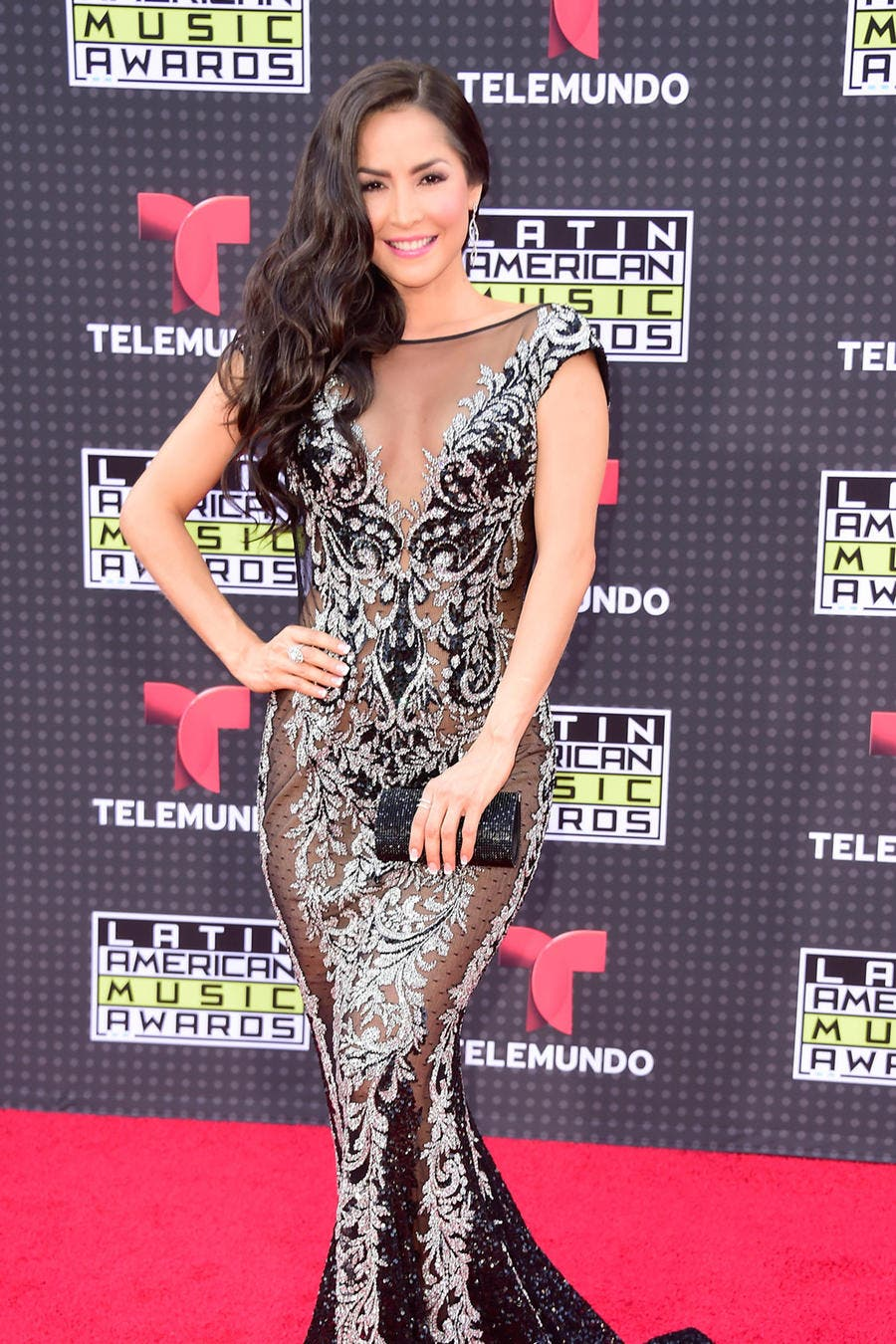 HOLLYWOOD, CA - OCTOBER 08: Carmen Villalobos attends Telemundo's Latin American Music Awards at the Dolby Theatre on October 8, 2015 in Hollywood, California. (Photo by Frazer Harrison/Getty Images)