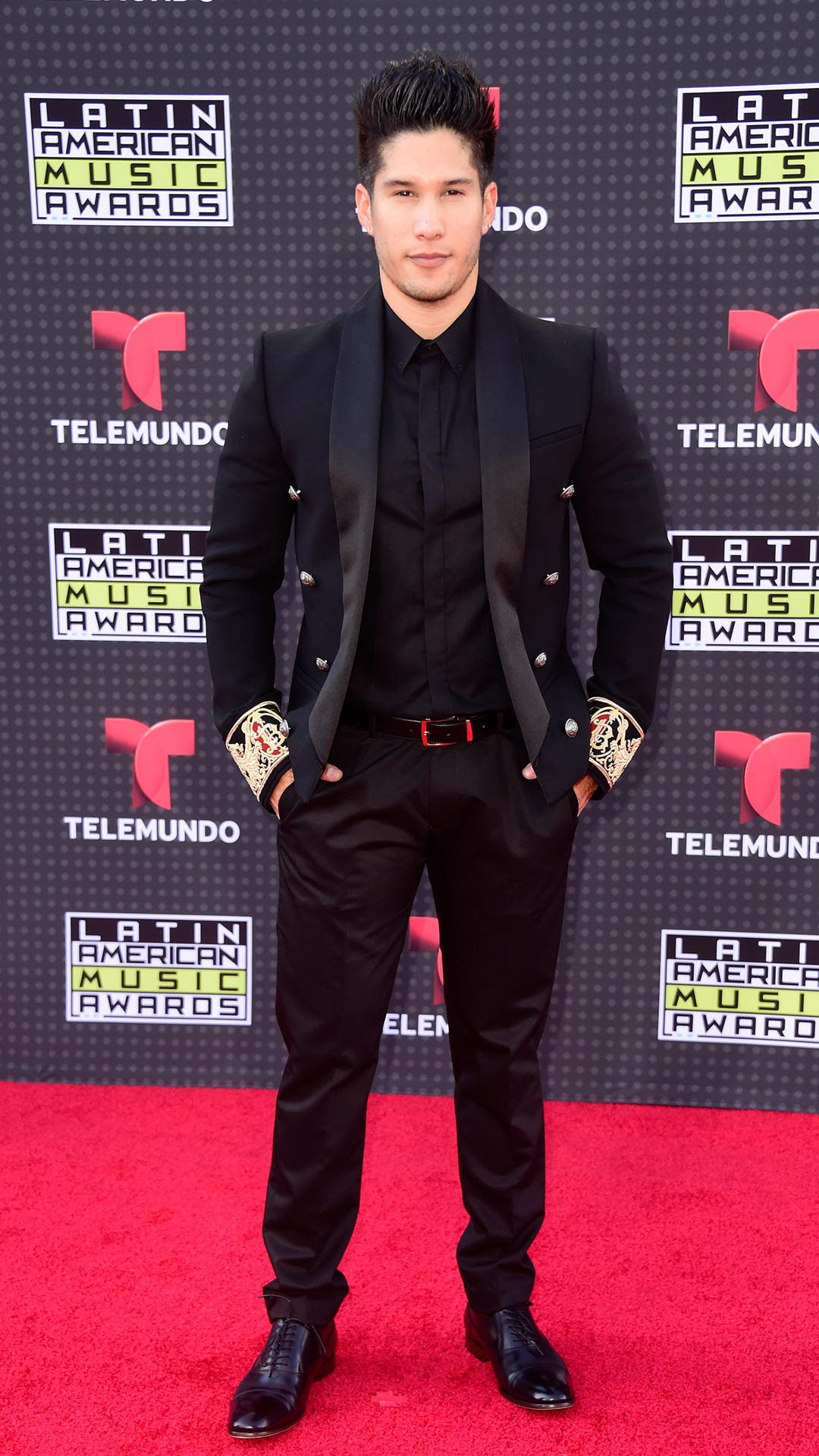 HOLLYWOOD, CA - OCTOBER 08: Chino attends Telemundo's Latin American Music Awards at the Dolby Theatre on October 8, 2015 in Hollywood, California. (Photo by Frazer Harrison/Getty Images)