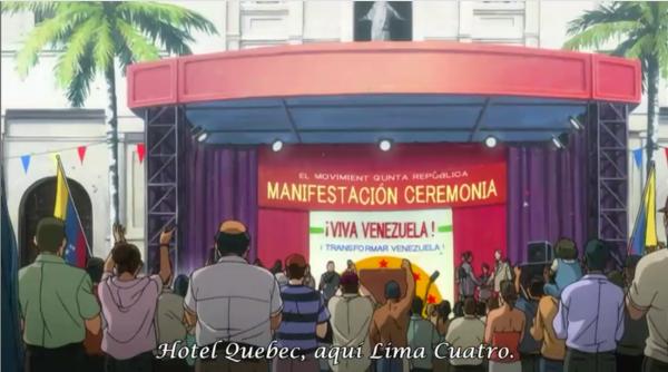 Conozca el anime japones que habla sobre Venezuela