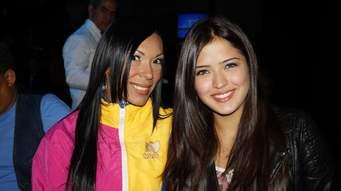 Karina Salaya junto a Daniela Cabello, la hija del primer vicepresidente del Psuv, Diosdado Cabello | Foto: vía El Farandi