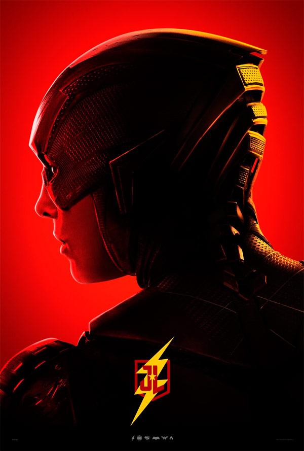 Revelan nuevos carteles individuales de la Liga de la Justicia 6