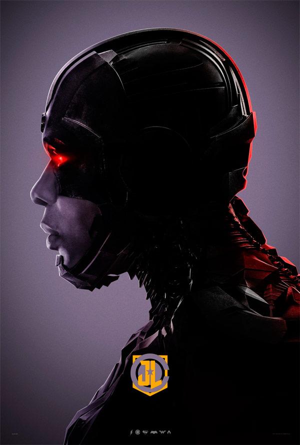 Revelan nuevos carteles individuales de la Liga de la Justicia 9